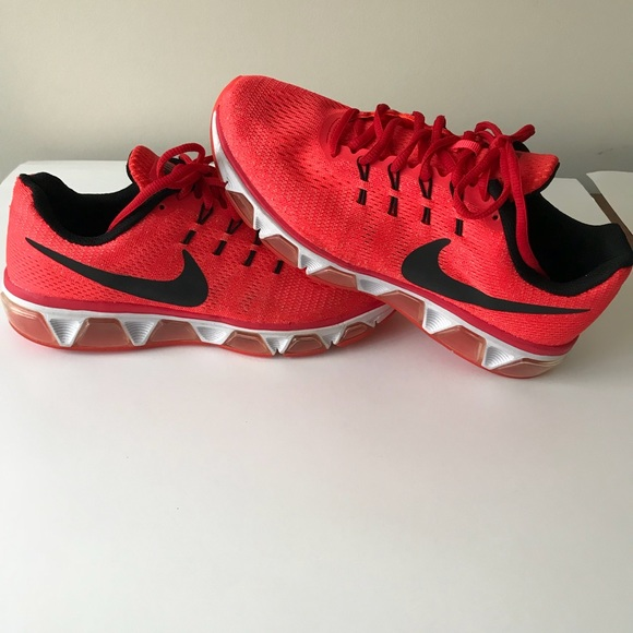 d5521b8717c9 Nike Air Max Tailwind 8 Red Orange Mesh Shoes Sz 8.  M 5b6cf8a2cdc7f72fd4732fc0